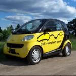 A Smart ForTwo EV