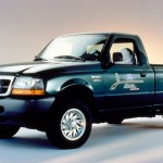 Ford Ranger EV, popular with converters due to its high load capacity, its relatively light weight, and good utility