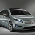 GM's Chevy Volt plug-in hybrid.  Will do 40 miles on electric power alone.