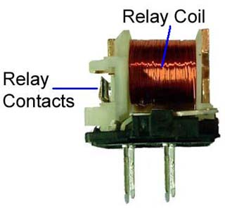 Electromechanical Relay Innards