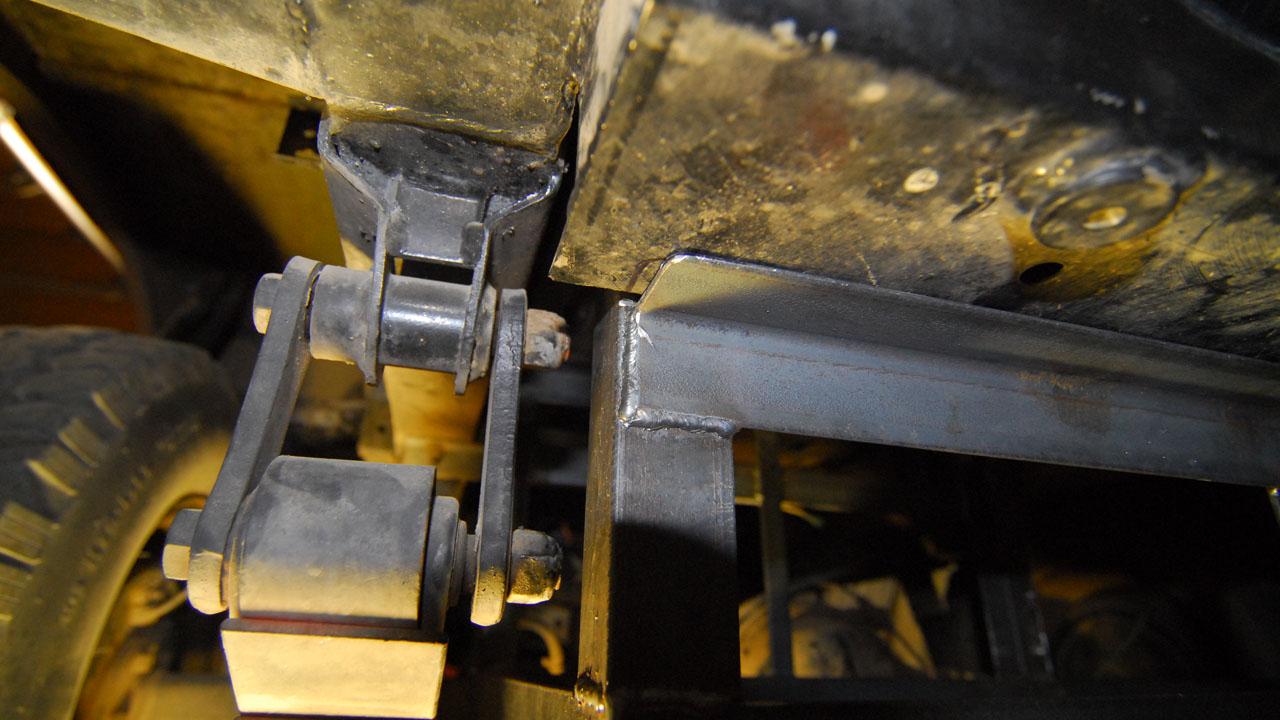 Crossmember Detail