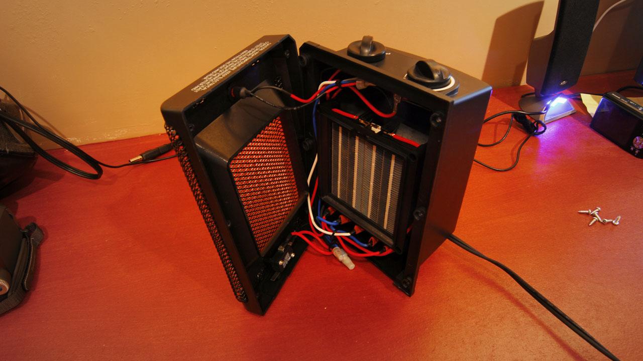 Inside Heater