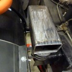 Motor Bracket Closeup