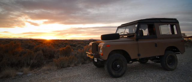 1971 Series IIA SWB Land Rover